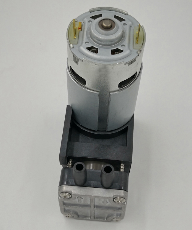 12 / 24 Volt DC Brush Motor Micro Piston Pump , Micro Miniature Pumps Electric Power