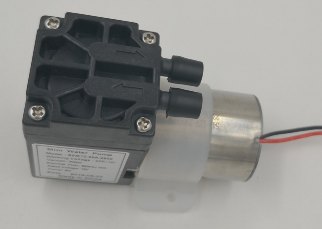 Low Pressure Brushless Air Pump , DC Motor Diaphragm Air Compressor Pump Low Flow