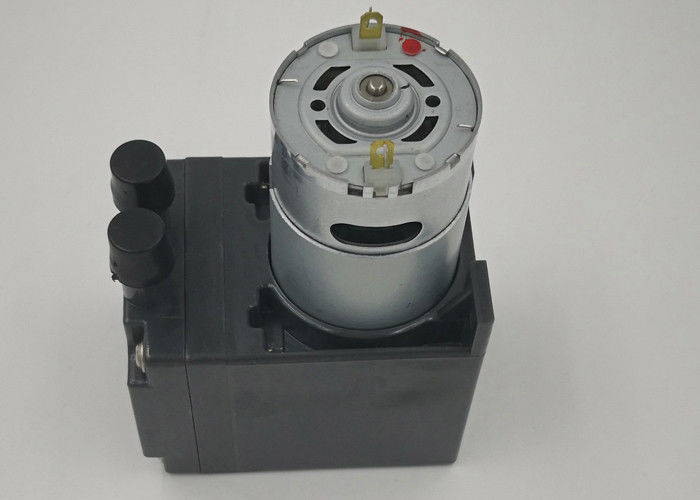24V DC Motor Electric Vacuum Pump 16L/M Flow Inflate / Deflate Gas Application