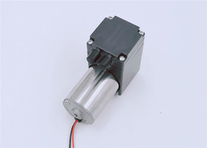 Micro 12 / 24V DC Diaphragm Pump DC Brush Motor -55kpa Vacuum For Food