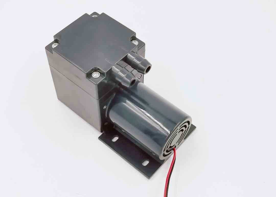 24V DC Compressor Electric Vacuum Pump High Flow Low Heat With Brush Motor